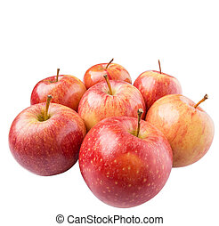 Royal Gala Apple - Royal gala apple on white background