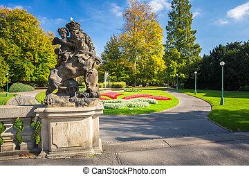 Royal Garden in Prague, Czech Republic