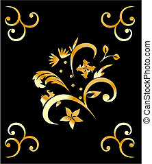 royal gold pattern