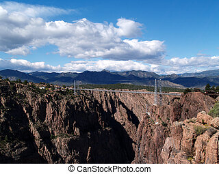 Royal Gorge Bridge and Park in Canon City, Colorado