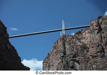 Royal Gorge Bridge from Below
