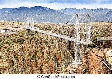 Royal Gorge Suspension Bridge - Royal Gorge Suspension...