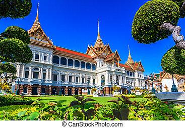 Royal grand palace in Bangkok, Asia Thailand