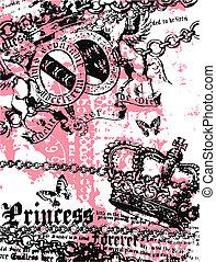 royal, héraldique, bannière