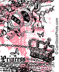 royal heraldic banner