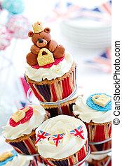 Royal Jubilee cupcakes - Cupcakes to celebrate the Diamond...