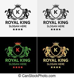 Royal King Logo Template