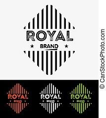 Royal Logo Badges