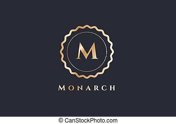 Royal logo vector template hotel - Royal logo vector...