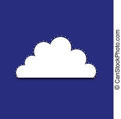 royal, nuage
