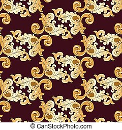Royal ornament element pattern