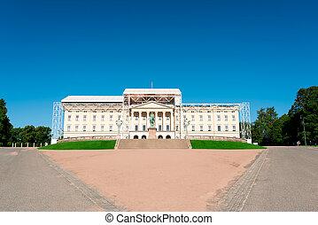 Royal Palace at Oslo Norway