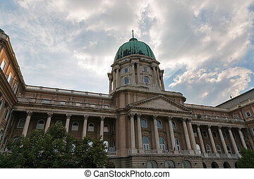 Royal Palace in Buda Castle, Budapest