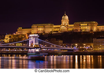 Royal palace in Budapest Hungary