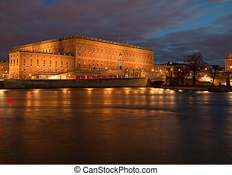 Royal Palace in Stockholm.