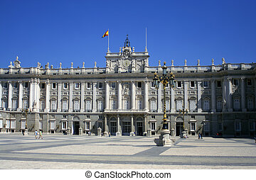 royal palace - Palacio Real in Madrid, Spain