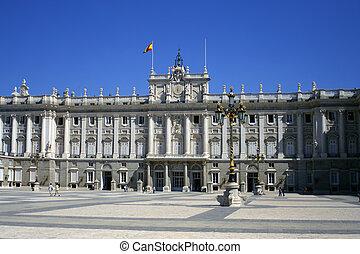 royal palace - Palacio Real in Madrid, Spain