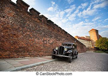 Royal palace Wawel in Krakow, Poland.