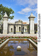 Royal park Buen-Retiro in Madrid