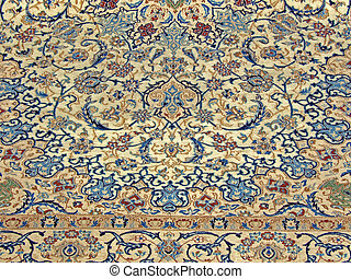 Royal pattern - Close up of a carpet pattern