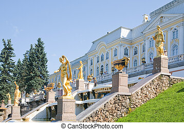 Royal Petrodvorets at Peterhof