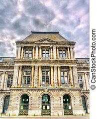 Royal Philharmonic of Liege, Belgium - View of Royal ...