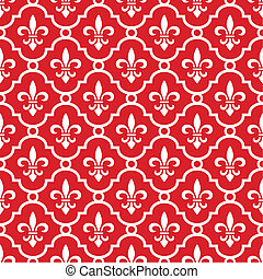 Royal red background - Retro royal vector background with...