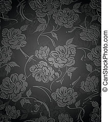 Royal seamless floral wallpaper