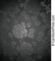 Royal seamless flower wallpaper