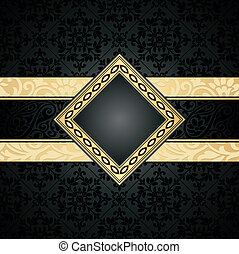 Royal seamless wallpaper and banner