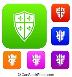Royal shield set collection