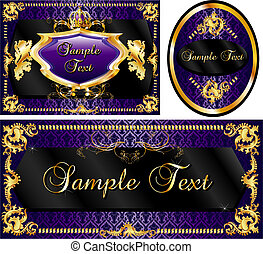 Royal Template Set Purple