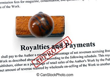 Royalties and payment - approved