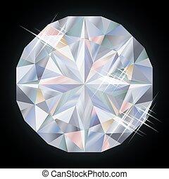 Royalty diamond, vector