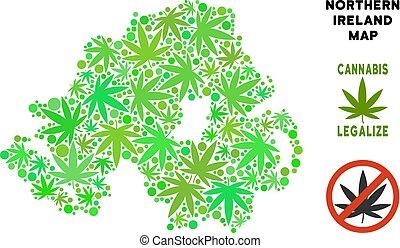 Royalty Free Marijuana Leaves Composition Northern Ireland...