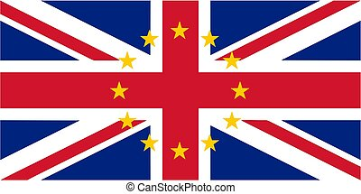 royaume, drapeau, uni, britannique