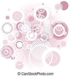 roze, abctract, bg