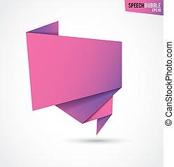 roze, abstract, vrijstaand, achtergrond, witte , spandoek