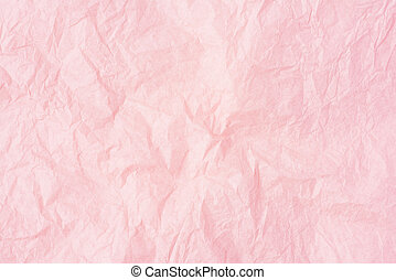 roze, achtergrond., verfrommeld papier