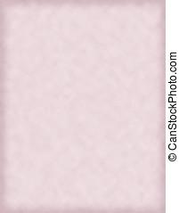 roze document, perkament