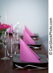 roze, moderne, groene, portie