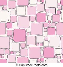 roze, pleinen, achtergrond, geometrisch