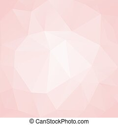 roze, polygon., abstract, achtergrond