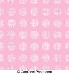 roze, punten, model, abstract, seamless, textiel, achtergrond