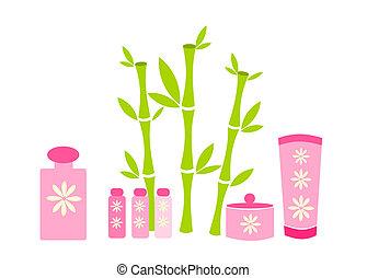 roze, schoonheidsmiddelen
