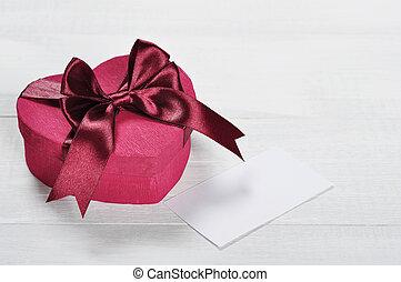 roze, valentines dag, giftdoos