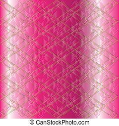 roze, vector, rooster achtergrond, textuur