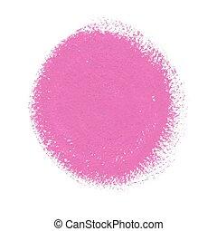 roze, verf , acryl, vector, cirkel