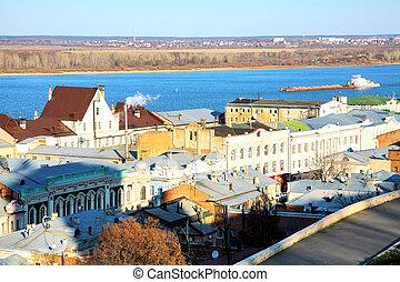 Rozhdestvenskaya street Nizhny Novgorod Russia