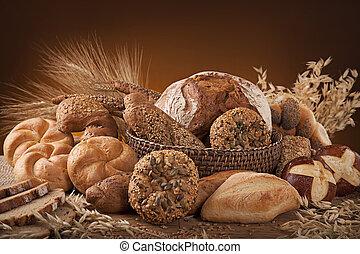 rozmanitý, bread